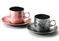 コーヒーカップセット フロー 京都 漆器の井助