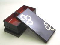 うたげ花見重 金梅  京都 漆器の井助  漆器の重箱