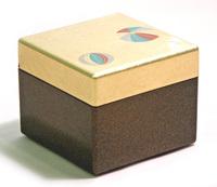 ピアスボックス 金箔手まり 京都 漆器の井助
