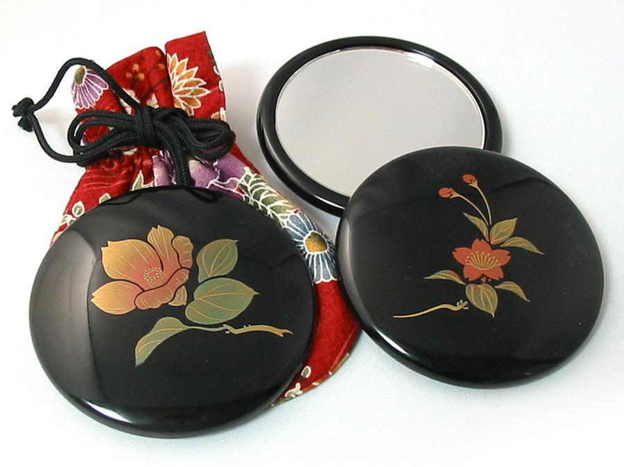 コンパクトミラー プチ手鏡 誕生花
