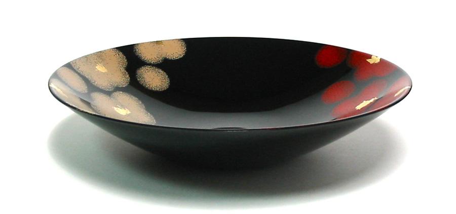 ボウル 紅白華 【送料無料・まとめ買い割引】漆塗り 中鉢 漆器の井助