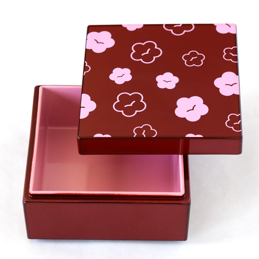 うるしこはこ 漆塗りの小箱 梅