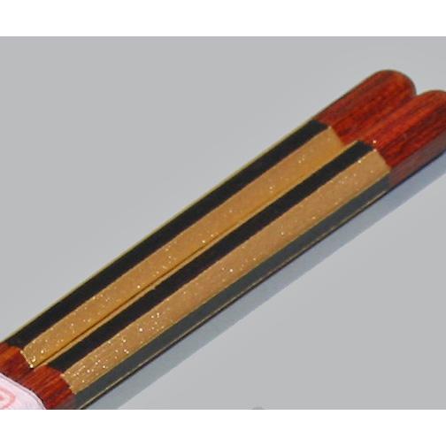箸 金箔ストライプ 木製漆塗り 漆器の井助