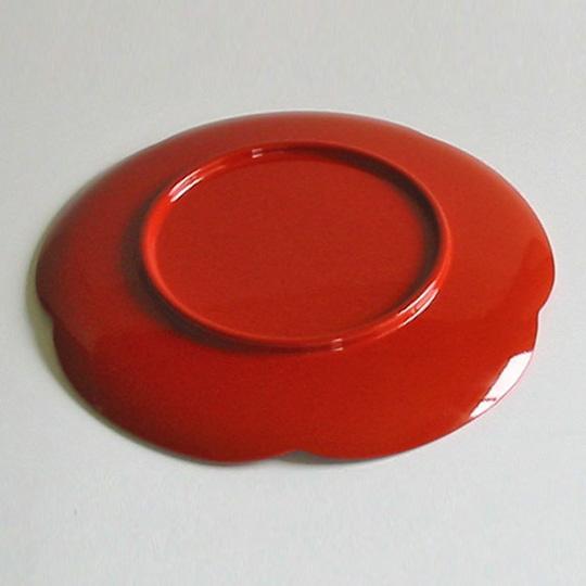 福梅皿 金箔 漆器の井助