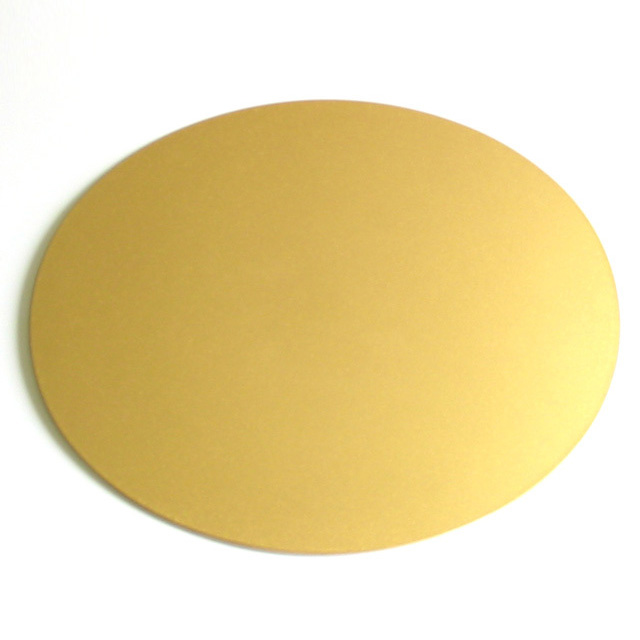 両面マット 楕円 小 金 ランチョンマット 漆器の井助