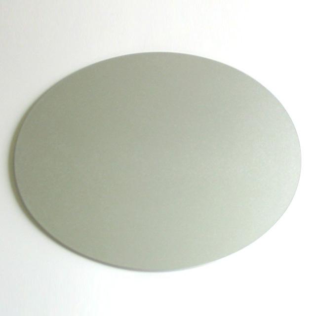 両面マット 楕円 小 銀 ランチョンマット 漆器の井助